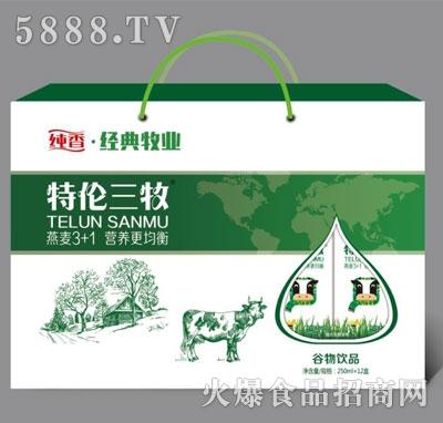 纯香经典牧业谷物饮品250mlX12