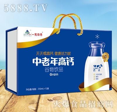 一光日月中老年高钙谷物饮品250mlX12