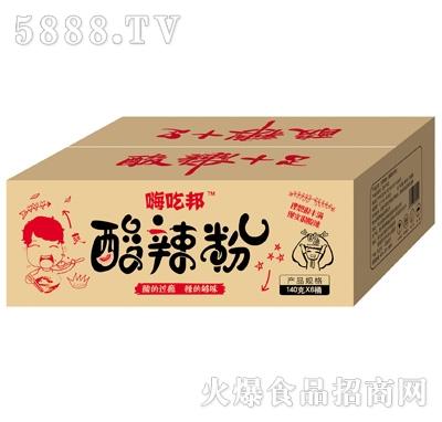嗨吃邦酸辣粉箱装140gx6桶