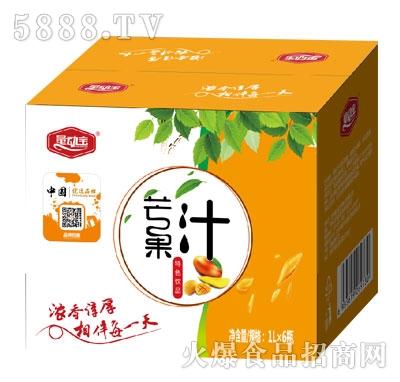 量动宝芒果汁1LX6