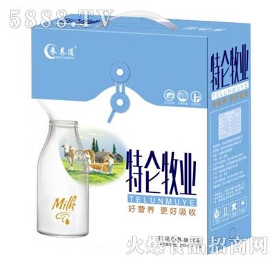 参养道特仑牧业牧场奶乳味饮品250mlX12