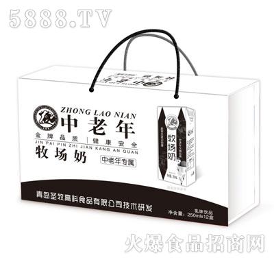 中老年牧场奶250mlX12盒