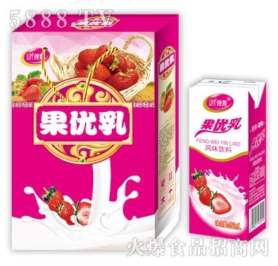 领舞果优乳风味饮料(箱)