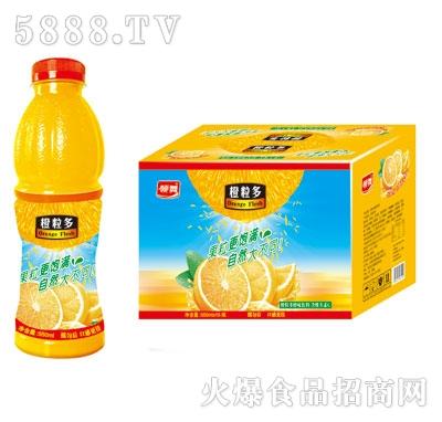 领舞橙粒多橙味饮料550mlX15
