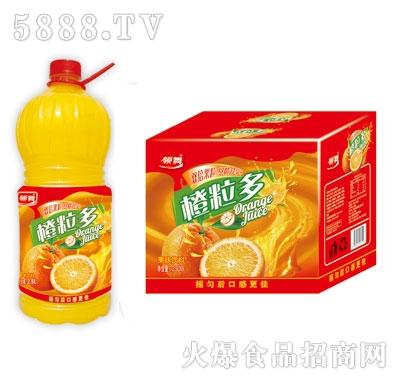 领舞橙粒多果味饮料2.5LX6