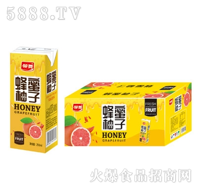 领舞蜂蜜柚子果汁饮料