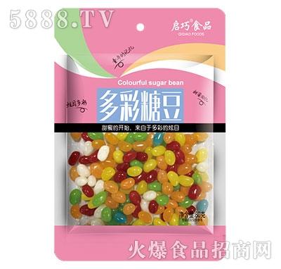 启巧多彩糖豆80g