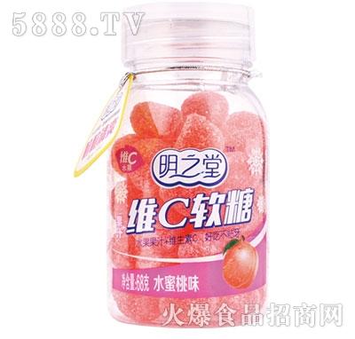 明之堂维C软糖水蜜桃味