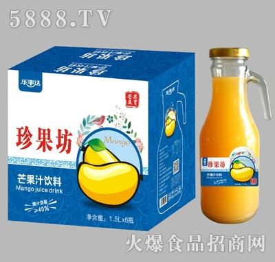 珍果坊芒果汁手柄瓶1.5Lx6瓶