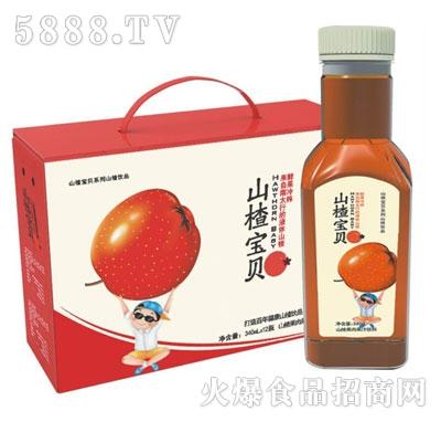 山楂宝贝果肉果汁340mlx12瓶