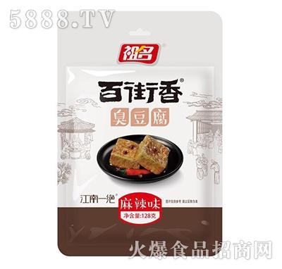 祖名百街香臭豆腐香辣味128g