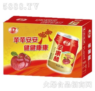 珍景泉苹果醋果汁饮料箱装