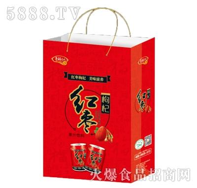 奇福记红枣枸杞果汁饮料礼盒装