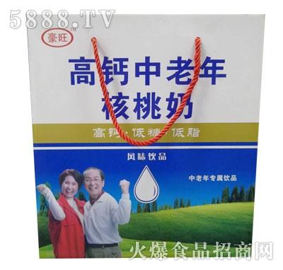 豪旺高钙中老年核桃奶