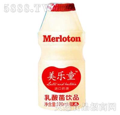 美乐童乳酸菌饮品100ml