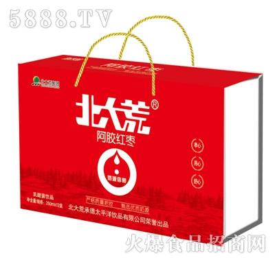 北大荒阿胶红枣乳酸菌饮品250mlX12盒