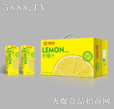 达利园乳业柠檬汁250mlX24
