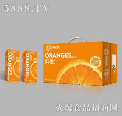 达利园乳业鲜橙汁250mlX24