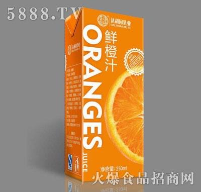 达利园乳业鲜橙汁250ml