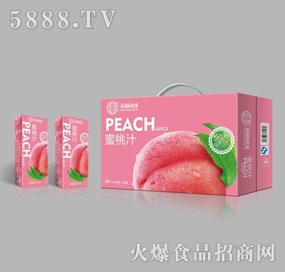 达利园乳业蜜桃汁250mlX24