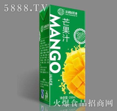 达利园乳业芒果汁250ml