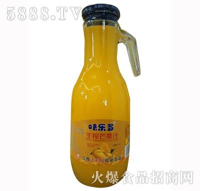 味乐多生榨芒果果汁1.5L
