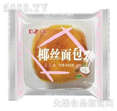 卡资椰丝面包红豆味