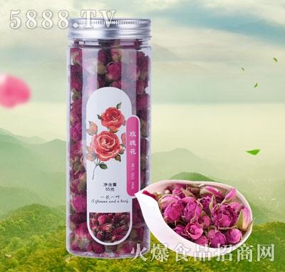 一花一叶玫瑰花茶