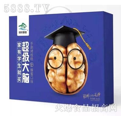 绿岭康维手剥烤核桃蜂蜜味960g