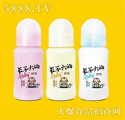 益可滋带奶嘴玻璃瓶发酵酸奶260ml