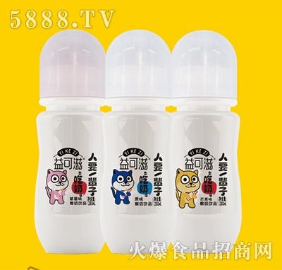 益可滋带奶嘴玻璃瓶发酵酸奶280ml