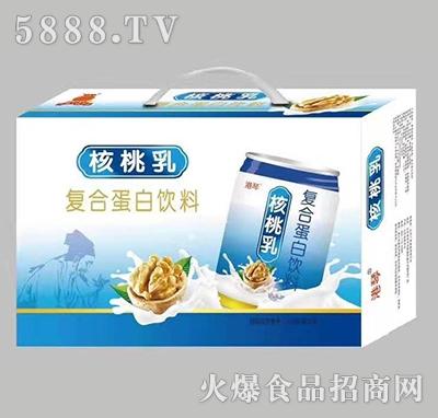 港琴核桃乳复合蛋白饮品