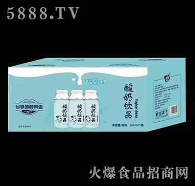 庆耀酸奶饮料350ml×15瓶
