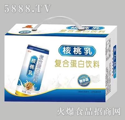 港琴核桃乳复合蛋白饮品240毫升
