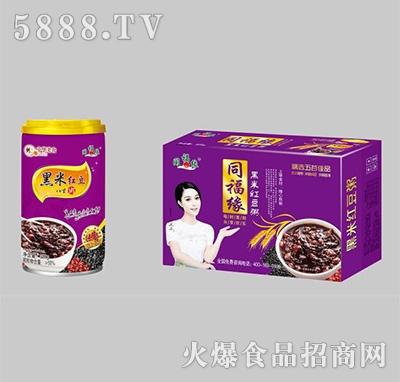 同福缘黑米红豆粥箱装+罐装