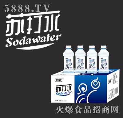 宜泉苏打水原味350mlx24瓶