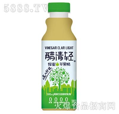 醋清轻蜂蜜苹果醋发酵果汁饮料500ml