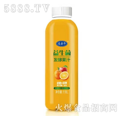 逸童年益生菌发酵果汁(鲜橙+苹果)