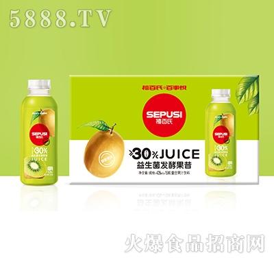 禧百氏百事悦猕猴桃益生菌发酵复合果汁428mlx15瓶