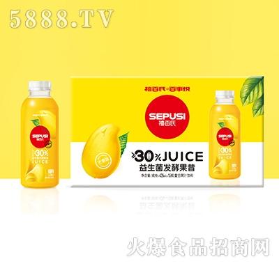 禧百氏百事悦芒果益生菌发酵复合果汁428mlx15瓶