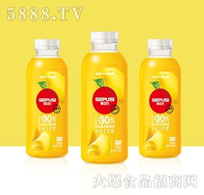 禧百氏百事悦芒果益生菌发酵复合果汁428ml