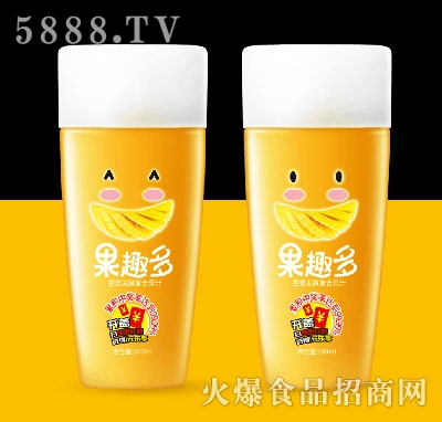果趣多芒果发酵复合果汁360ml