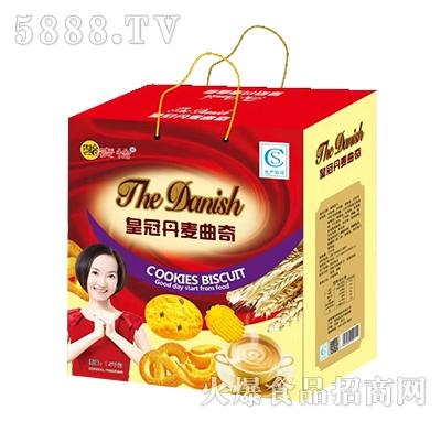 麦恰皇冠丹麦曲奇饼干1.5千克