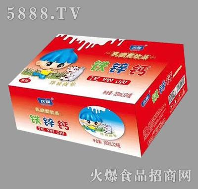 庆耀铁锌钙乳酸菌饮品原味200ml×24瓶