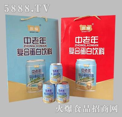 庆耀中老年复合蛋白饮料240ml礼盒装