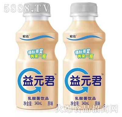 宸洁益元君乳酸菌饮料原味340ml