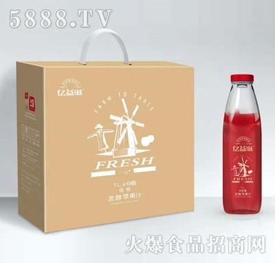 亿益滋发酵苹果汁1LX6瓶