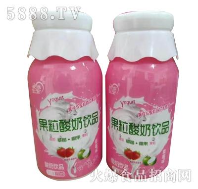菌悦果粒酸奶饮品350ml