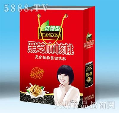 庞迪黑芝麻核桃低糖型复合植物蛋白饮料礼盒