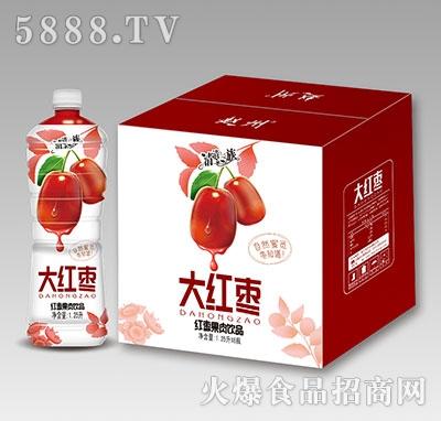 清清一族大红枣果肉饮品1.25L×6瓶